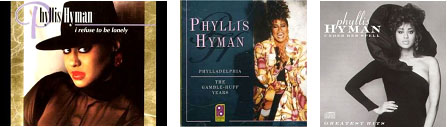 Phyllis Hyman album covers