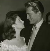 Pier Angeli and Kirk Douglas