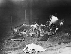 James Dean car wreck