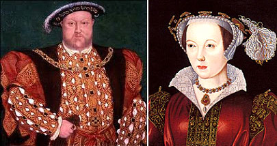 Henry VIII anf Catherine Parr