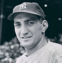 Ralph Branca with the Yankees
