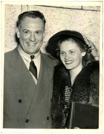 Red Grange with his wife