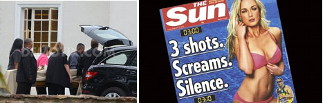 Reeva Steenkamp on the cover of Sun magazine after her death