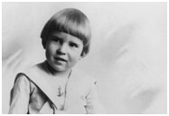 Richard Nixon baby photo