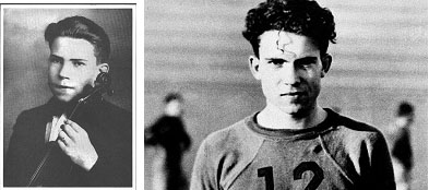 Richard Nixon when he was a teenager
