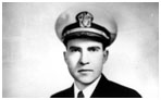 Richard Nixon navy photo