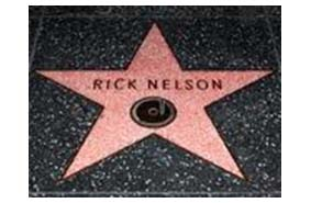 Rock Nelson star on hollywood walk of fame