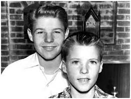 Rick Nelson and brother David Nelson