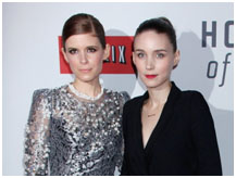 Rooney Mara and Kate Mara