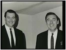Rock Hudson with Jim Nabors