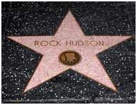 Rock Hudson Hollywood walk of fame