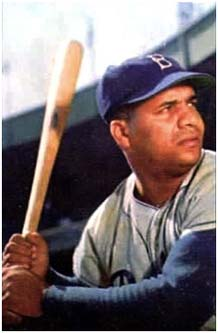 Roy Campanella on the Dodgers