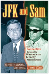 J.F.K. and Sam Giancana book cover