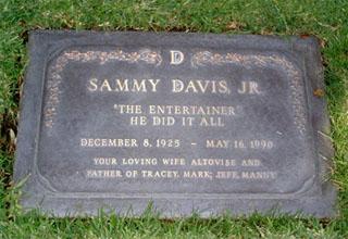 Sammy Davis Jr Death