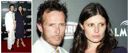 Scott Weiland with his second wife