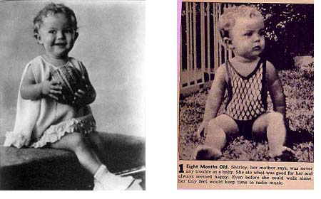 Shirley Temple baby photos