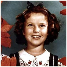 Shirley Temple around 1935