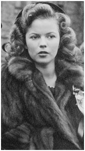 Shirley Temple age 16 in 1944