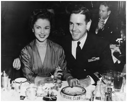 Shirley Temple with Charles Black