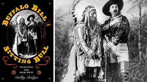 Sitting Bull in Buffal Bill's Wild West show
