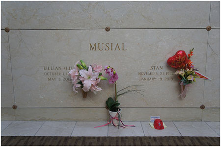 Stan Musial grave