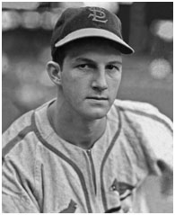 Stan Musial, early in his career