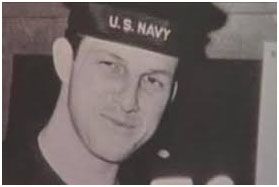 Stan Musial navy photo