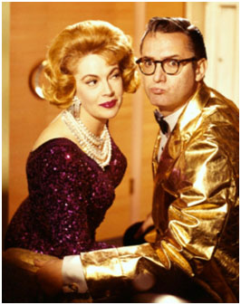 Steve Allen and Jayne Meadows