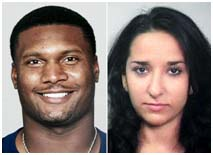 Steve McNair and Sahel Kazemi