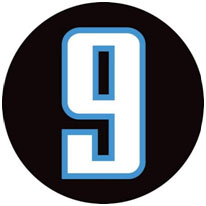 Steve McNair commemorative number nine sticker
