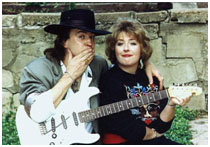 Stevie Ray Vaughan with Lenora Darlene Bailey
