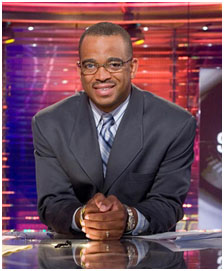 Stuart Scott working for ESPN