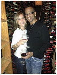 Stuart Scott and Kristin Spodobalski