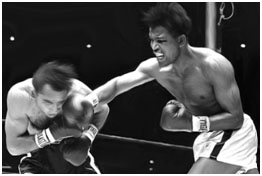 Sugar Ray Robinson boxing