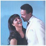 Tammi Terrell with Marvin Gaye