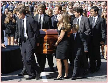 Ted Kennedy funeral