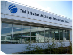 Ted Stevens Airport in Anchorage