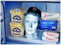 Ted Williams' near the end of his life