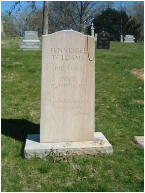 Tennessee Williams grave site