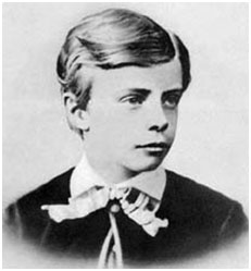Theodore Roosevelt as a boy