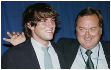 Tim Russert with son, Luke