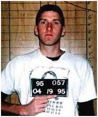 Timothy McVeigh's mug shot