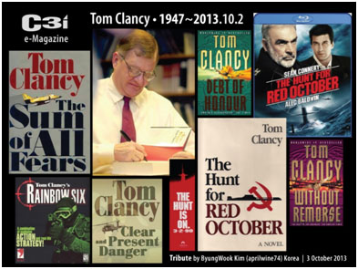 Tom Clancy book covers