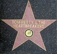 Tom Petty star on  Hollywood Walk of Fame