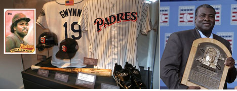 Tony Gwynn retired uniform