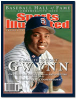 Tony Gwynn on the cover of Sports Illustrated