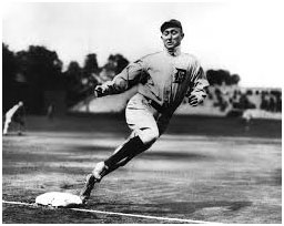 Ty Cobb running the bases