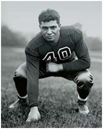 Vince Lombardi as a player for the Fordham Rams