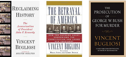 Vincent Bugliosi's book covers