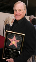 Wayne Rogers star on Hollywood Walk of Fame